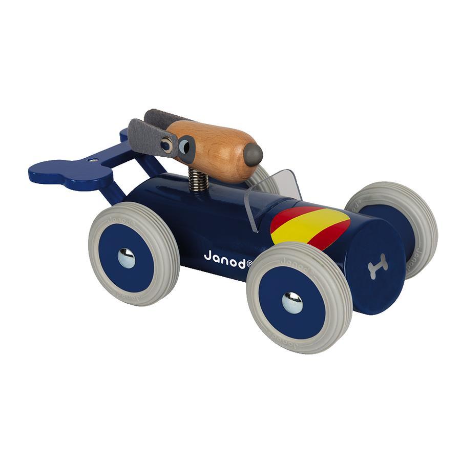 Janod® Spirit - Rennwagen Sergio, dunkelblau