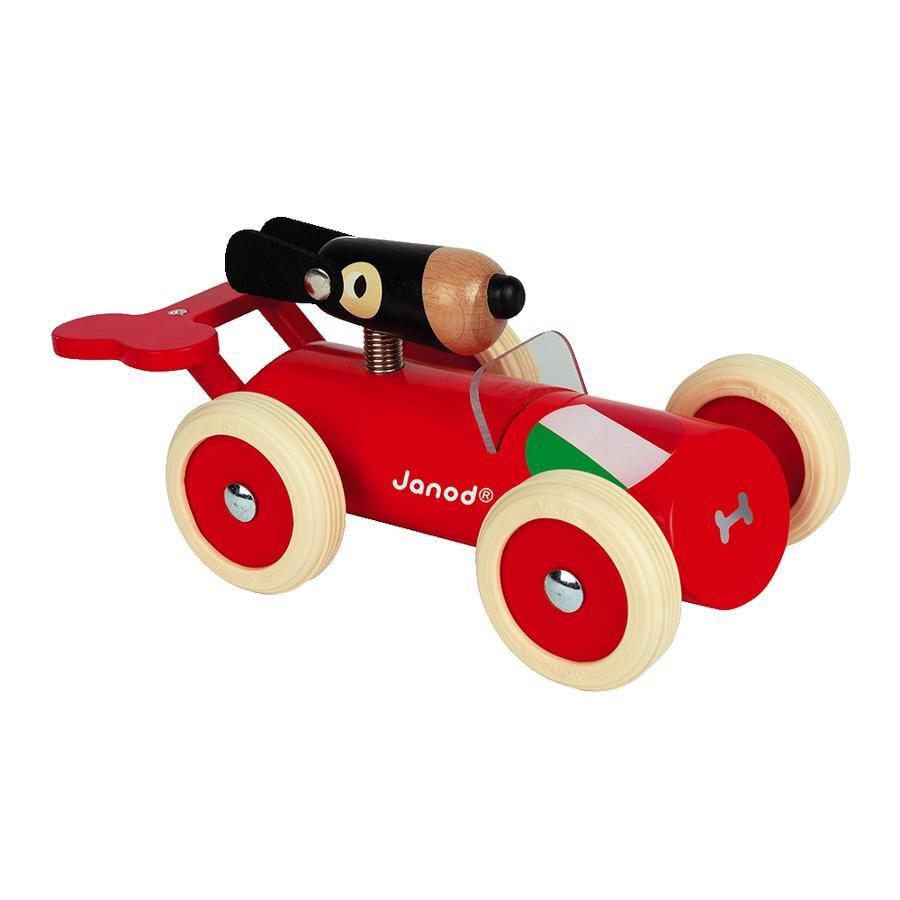 Janod® Spirit - Coche de carreras Marco, rojo