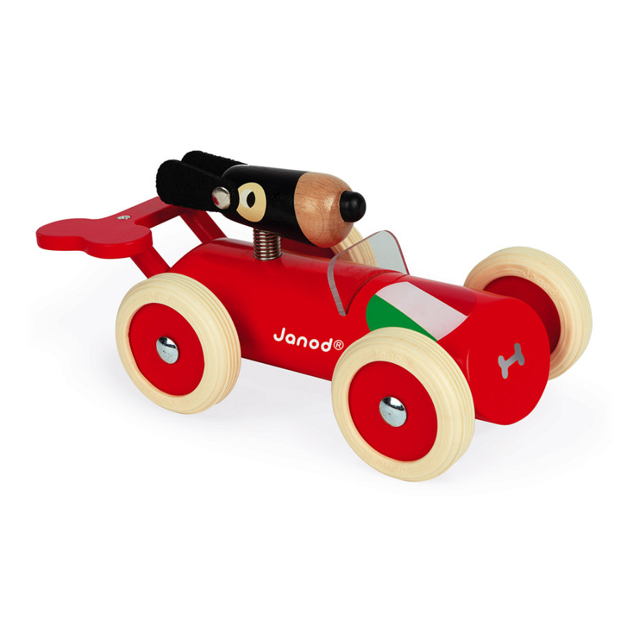 Janod® Spirit - Raceauto Marco rood