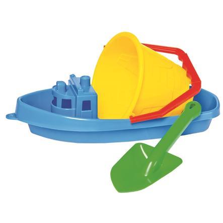 Bino Sand-Spielzeug Set mit Boot