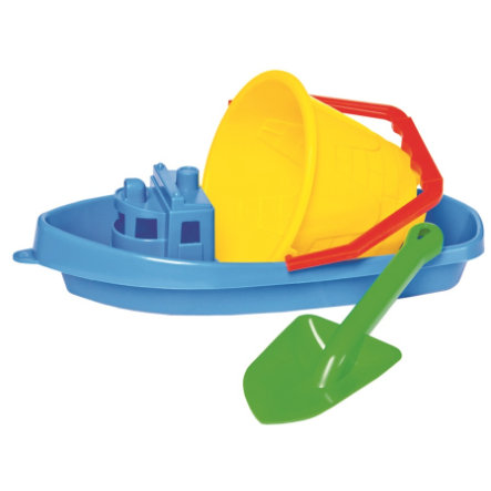 Bino Zand Speelgoed Set met boot