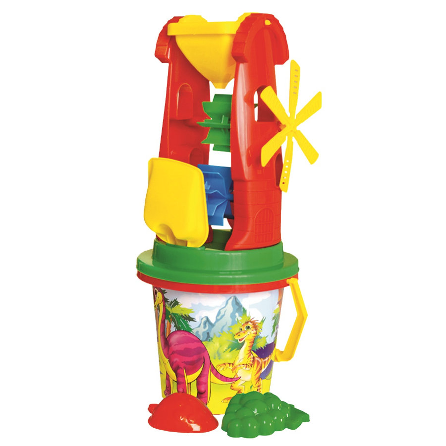 Bino Sand- Conjunto de juguetes, grande