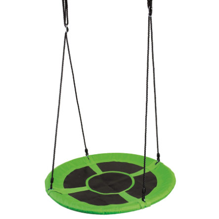 Bino Columpio de nido redondo, verde