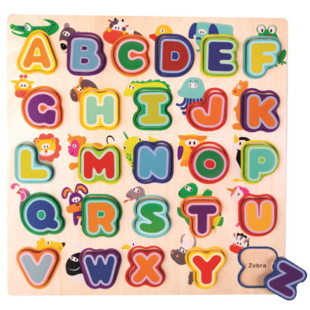 Bino Engelsk Alfabet med dyr