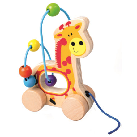 Bino Houten Doolhof Giraffe