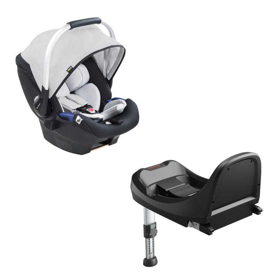 hauck Autostoel iPro Baby Set Lunar inclusief iPro Base