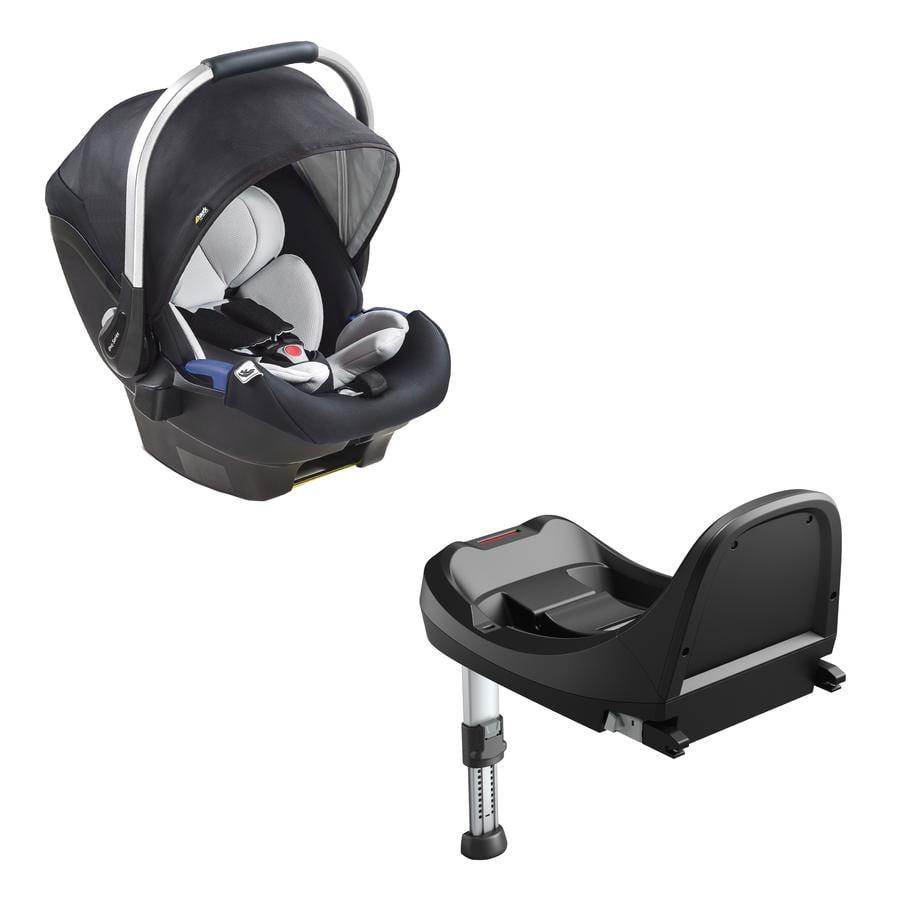 hauck Autostoel iPro Baby Set Caviar inclusief iPro Base