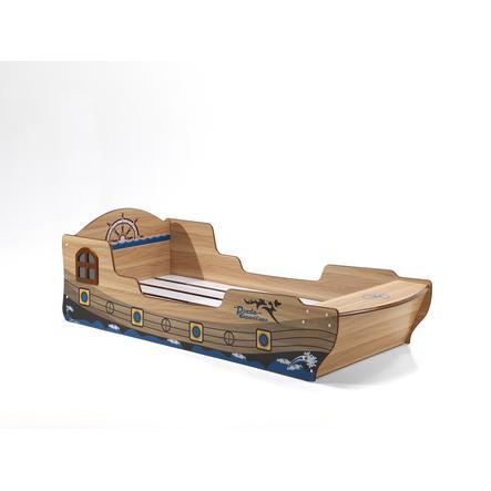 łóżeczko Dziecięce Pirat 90 X 200 Cm