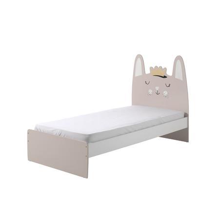 łóżko Funny Rabbit 90 X 200 Cm Ze Szczebel