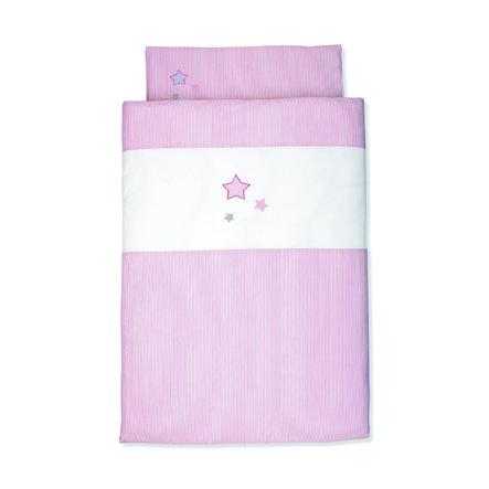 Sterntaler Baby sengetøy rose 100 cm x 135 cm
