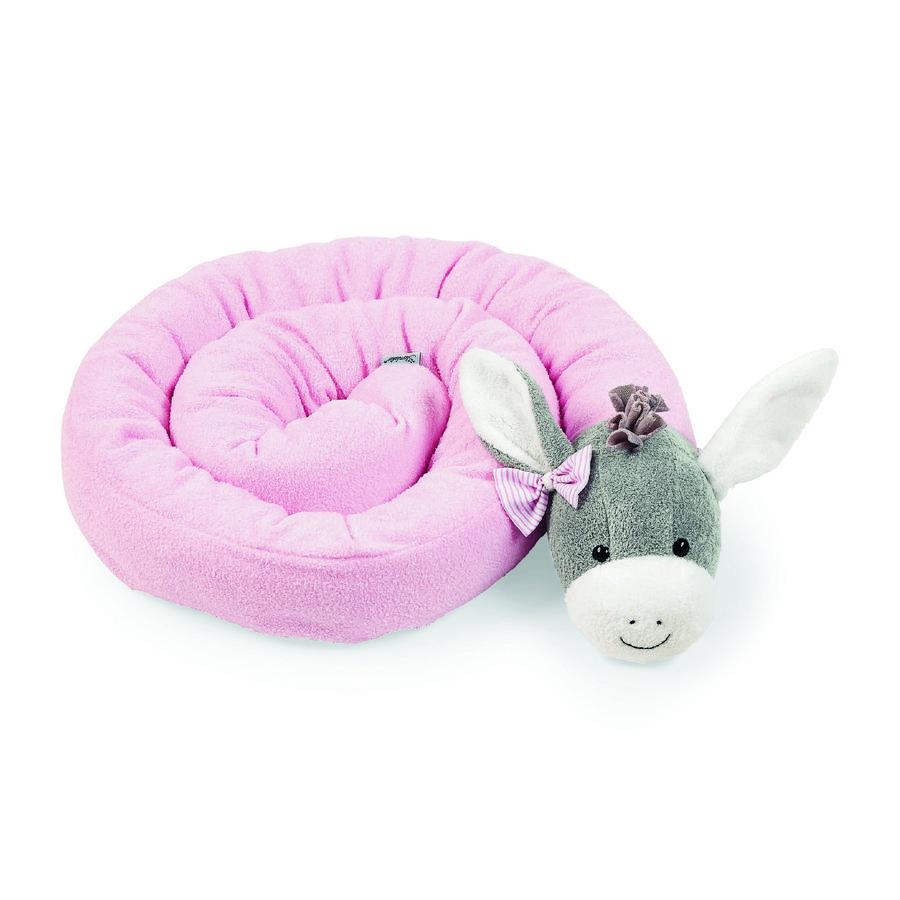 Sterntaler dlouhý polštář Emmi Girl růžový