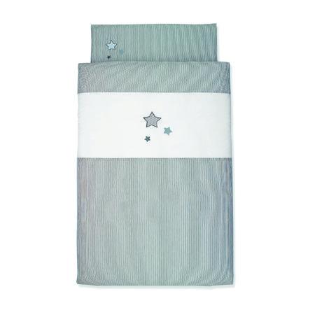 Sterntaler Parure de lit enfant gris original 80x80 cm