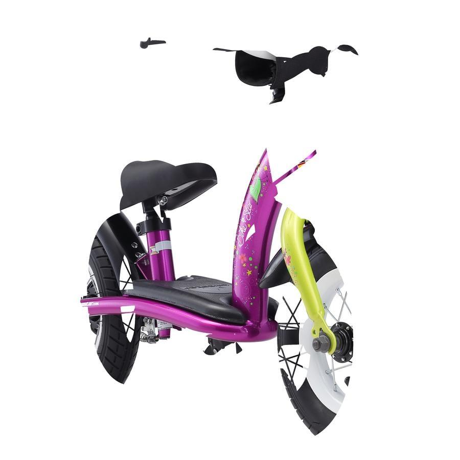 """bikestar Bicicletta senza pedali con freno 10"""" Berry-bianca"""