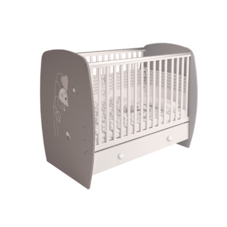 Polini Barn Babysäng French 710 Yanks gråvit