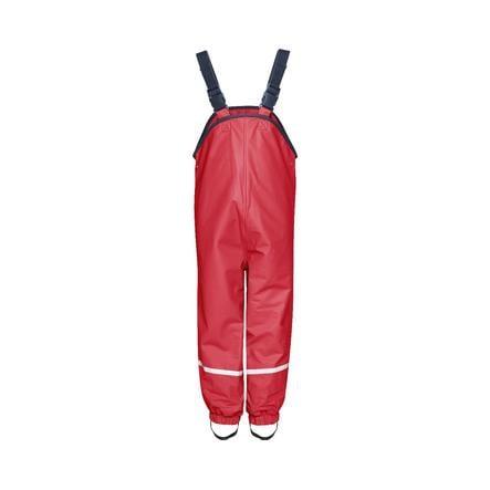 PLAYSHOES Pantalon imperméable doublé polaire rouge