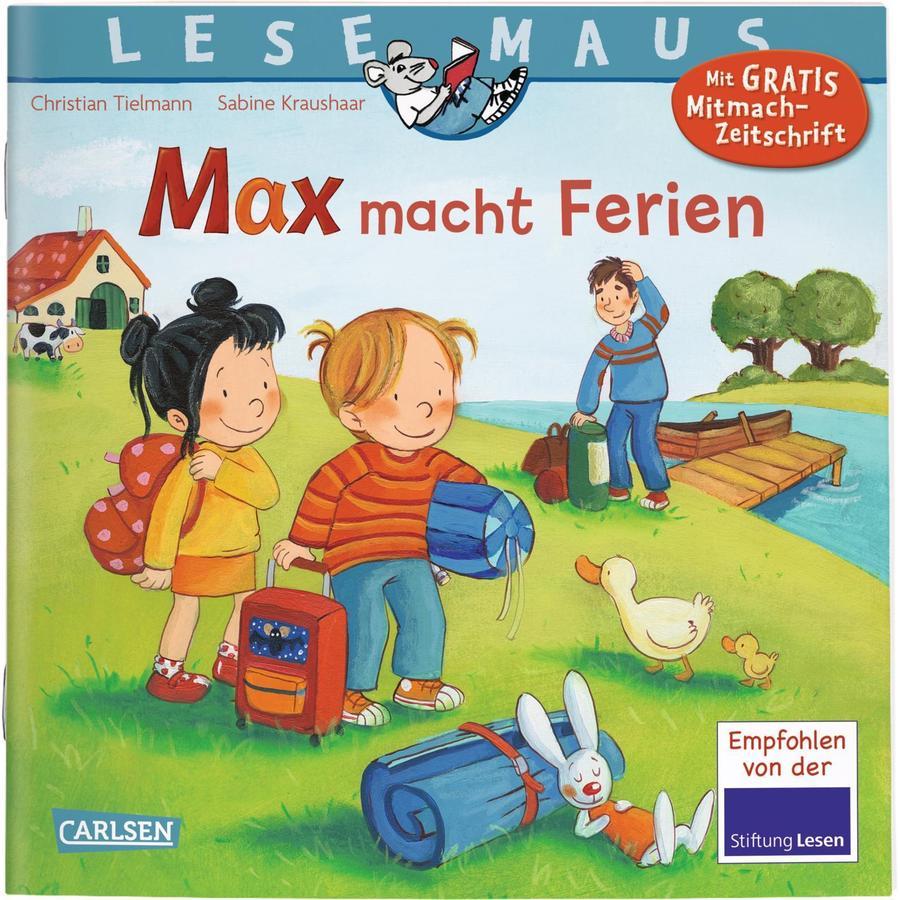 CARLSEN Lesemaus 113: Max macht Ferien (Softcover)