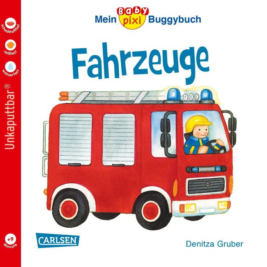 CARLSEN Mein Baby pixi Buggbuch 43: Fahrzeuge