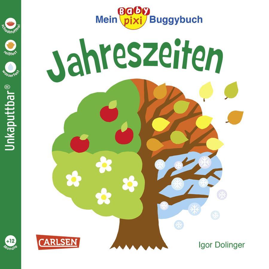 CARLSEN Mein Baby pixi Buggbuch 45: Jahreszeiten