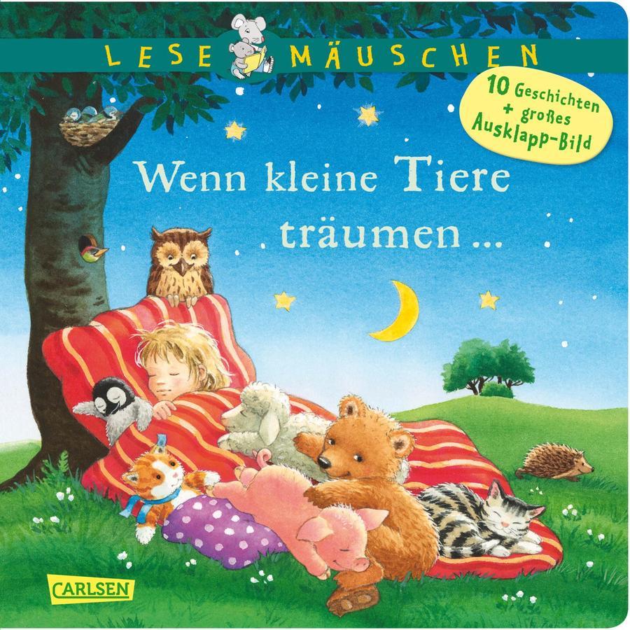 CARLSEN Lesemäuschen: Wenn kleine Tiere träumen...