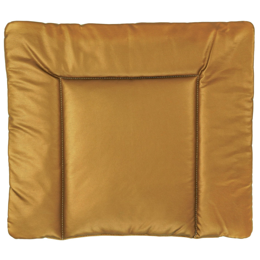 IDEENREICH Přebalovací rohož 85 x 75 cm, imitace kůže z bronzu