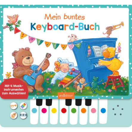 arsEdition Mein buntes Keyboard-Buch