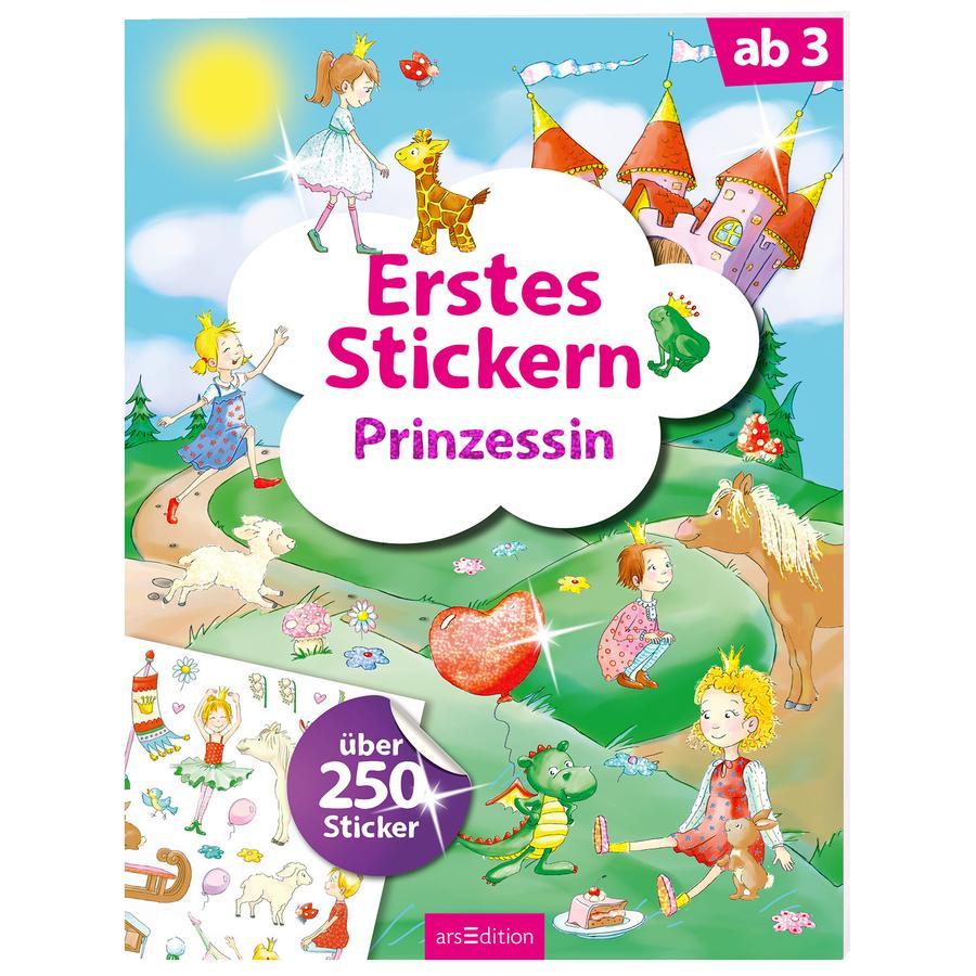 arsEdition Erstes Stickern: Prinzessin