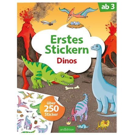 arsEdition Erstes Stickern: Dinos
