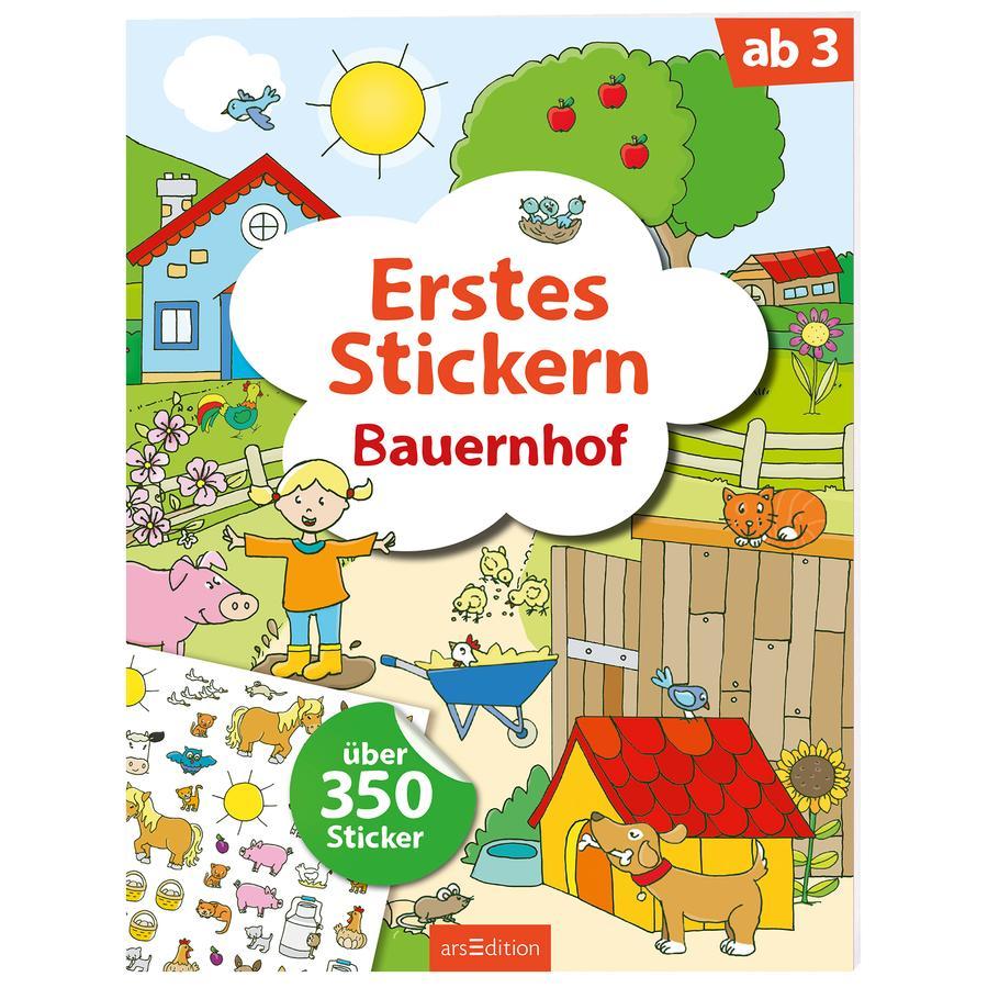 arsEdition Erstes Stickern: Bauernhof