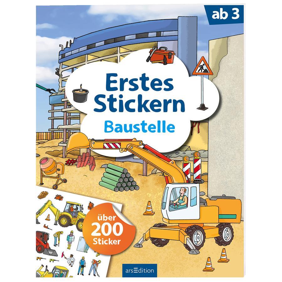 arsEdition Erstes Stickern: Baustelle