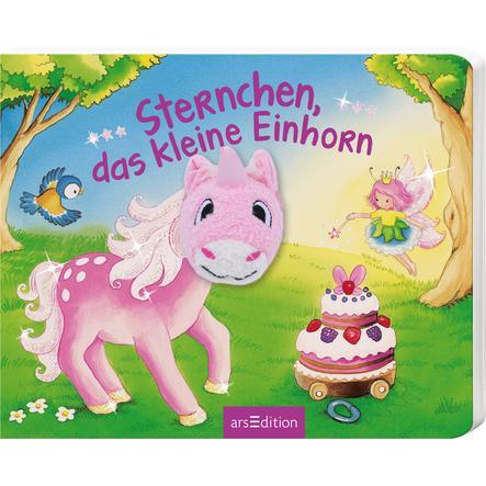 arsEdition Mein Fingerpuppenbuch - Sternchen, das kleine Einhorn