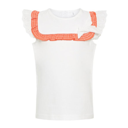 name it Girls Top Hahi Bright White