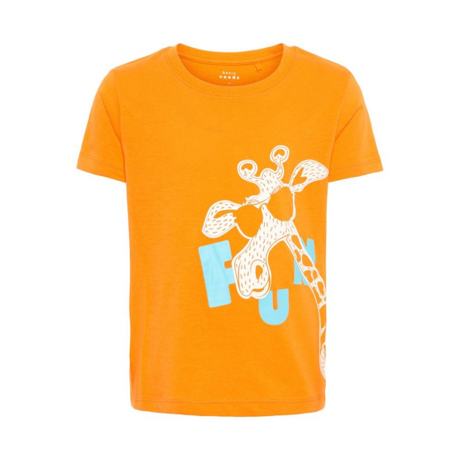 name it T-Shirt Vagno Flame Orange