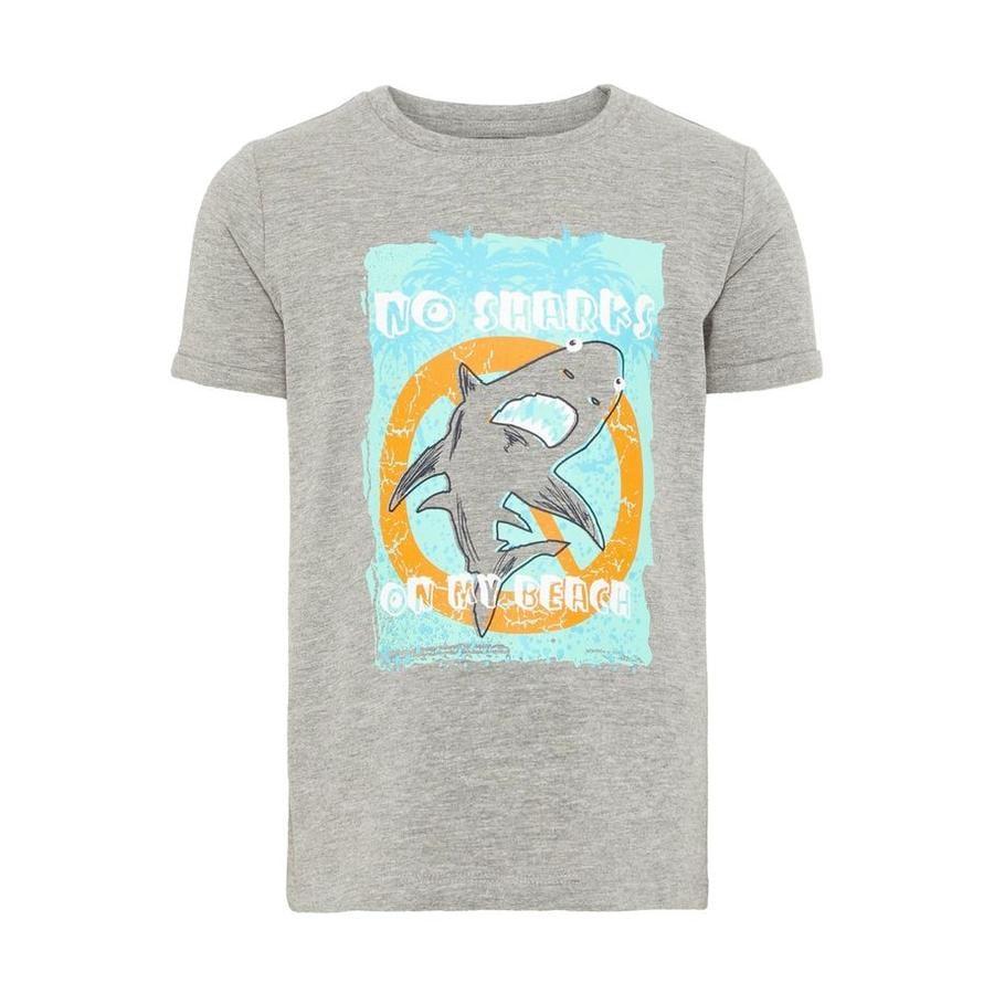 name it T-Shirt Vux Grey Melange