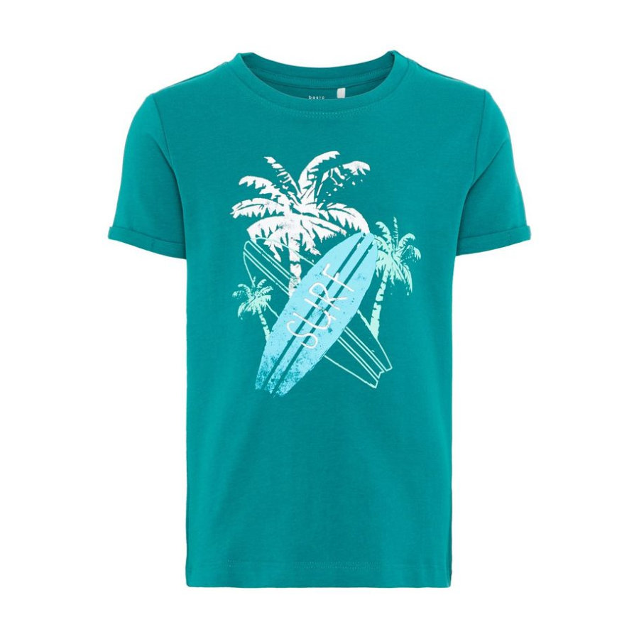 name it T-Shirt Vux Teal Green