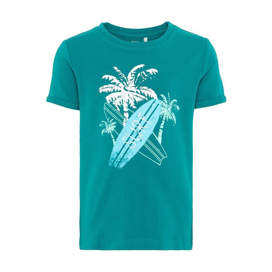 name it T-Shirt Vux Teal Groen