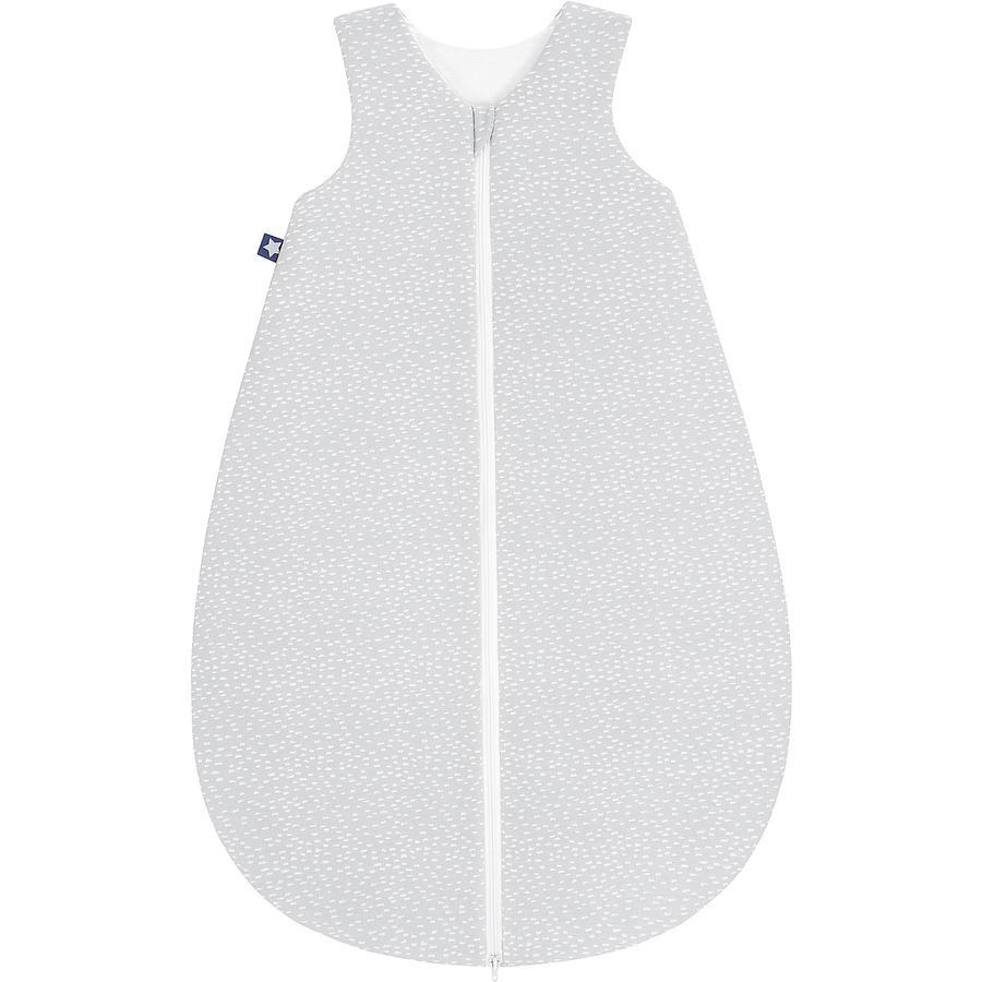 JULIUS ZÖLLNER Jersey Schlafsack Tiny Squares Grey