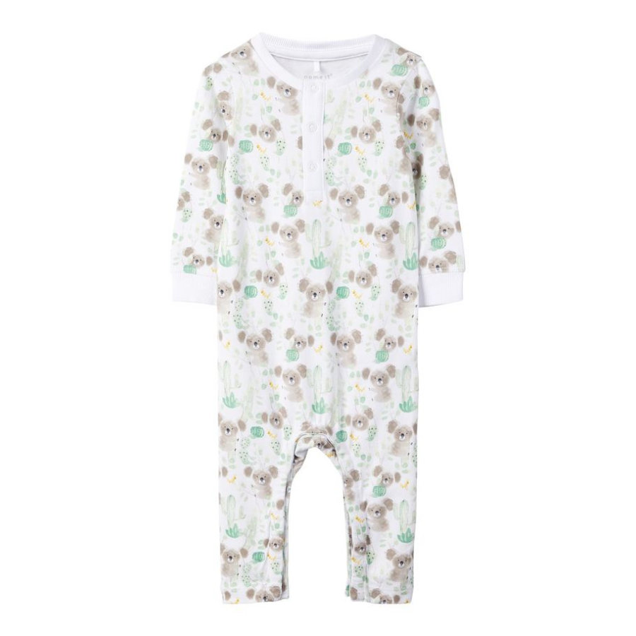 name it Combi pyjama bébé Nbmhefun bright white