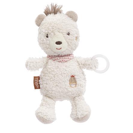 fehn® Peru Schnullertier Bär