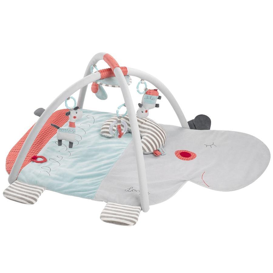 Babysun Tapis d'éveil 3D hippopotame Loopy & Lotta