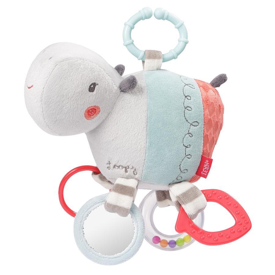 Babysun Jouet d'éveil hippopotame Loopy & Lotta, anneau