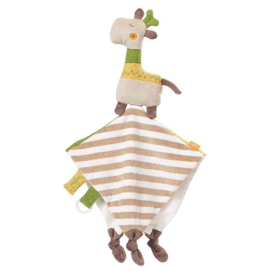 fehn® Loopy & Lotta Schmusetuch Giraffe Deluxe