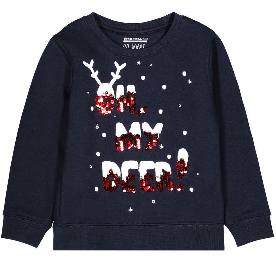 STACCATO Girl s Sweatshirt nacht blauw