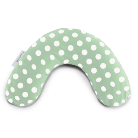 THERALINE Cuello kiss y cuello mediano 100 x 21 cm incl. funda - Verde Indie Dots