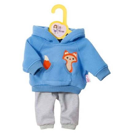 Zapf Creation  Dolly Moda Sport - Outfit Blauw, 36cm, 36cm