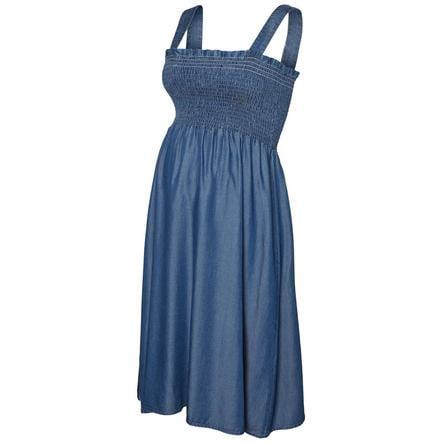 mama licious Vestido de embarazada MLEVALIA azul vaquero