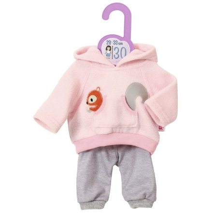 Zapf Creation Dolly Sport Outfit Růžová, 30 cm