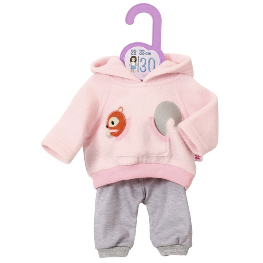 Zapf Creation Dolly Sport-Outfit Pink, 30 cm