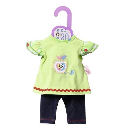 Zapf Creation Dolly Moda Shirt mit Leggings, 30 cm