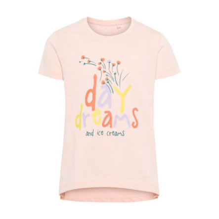 name it Girls T-Shirt Violet strawberry cream