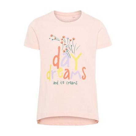 NAME IT Tyttöjen t-paita violetti mansikkavoide